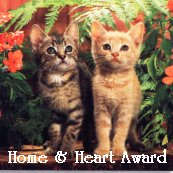 Geocities Home and Heart Award